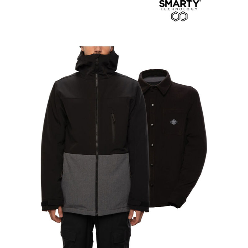 686 SMARTY 3-in-1 Phase Softshell Jacket - Mens 20/21 image number 2
