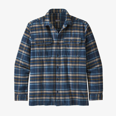 Patagonia Long-Sleeved Fjord Flannel Shirt - Mens 20/21