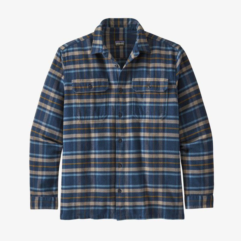 Patagonia Long-Sleeved Fjord Flannel Shirt - Mens 20/21 image number 0