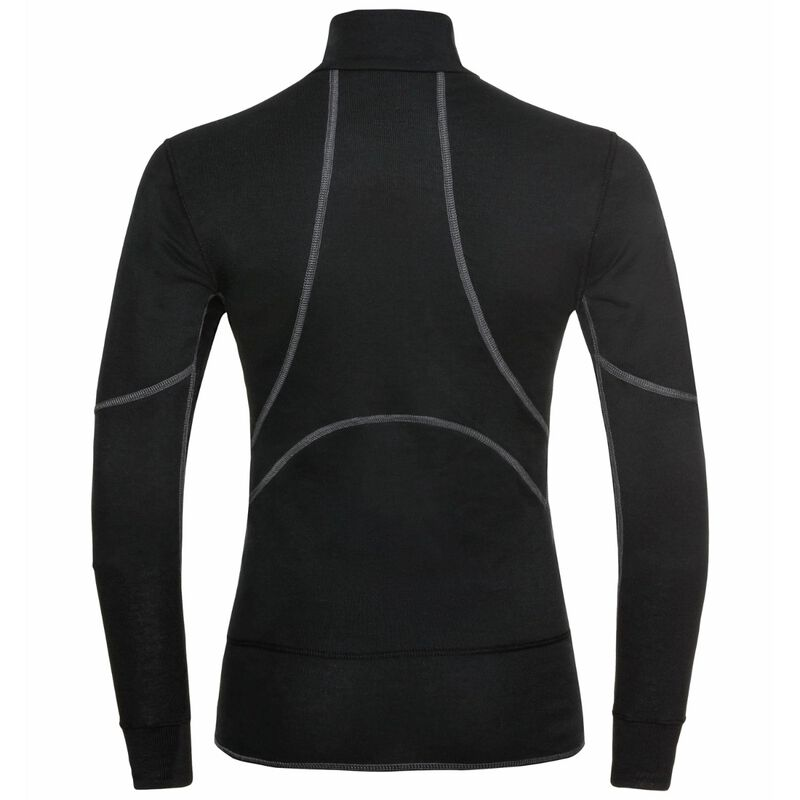 Odlo ACTIVE X-WARM ECO Half-Zip Baselayer Top - Womens 20/21 image number 1