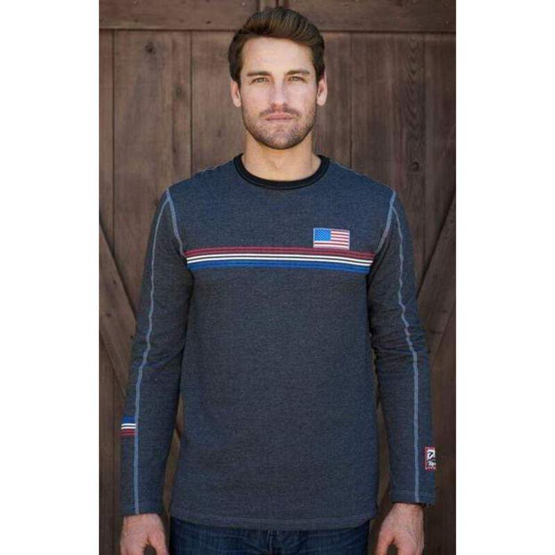 Alp-n-Rock USA Ski Crew Shirt Mens image number 0