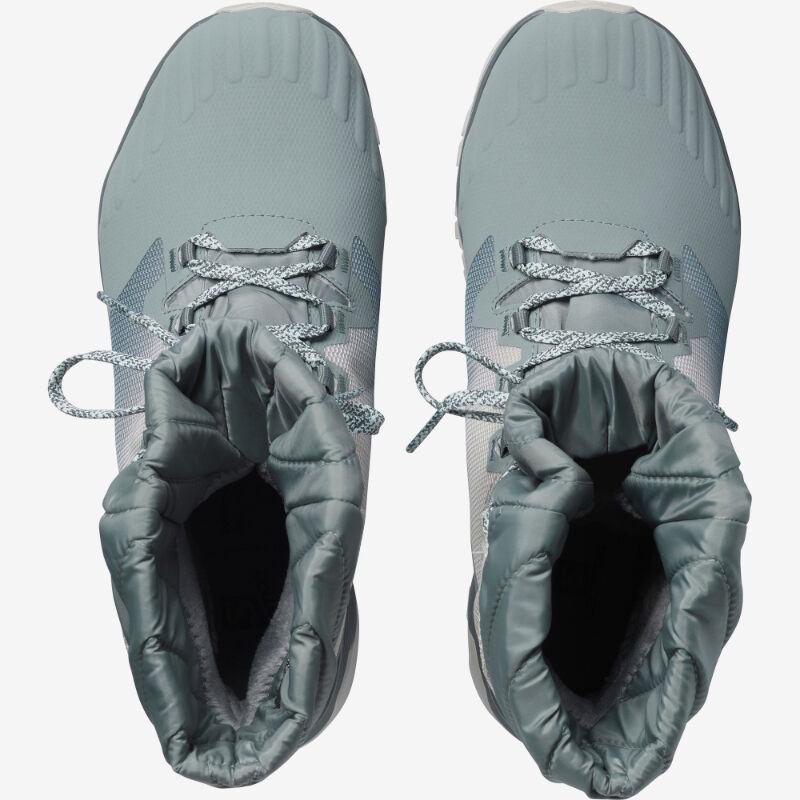 Salomon Vaya Powder Thinsulate Climasalomon Waterproof Boots Womens image number 1