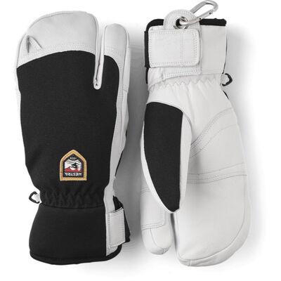 Hestra Army Leather Patrol 3-Finger Glove - Mens