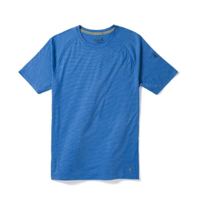 Smartwool Merino 150 Base Layer Micro Stripe Short Sleeve Mens image number 0