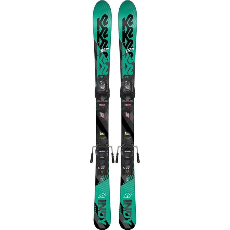 K2 Indy Skis with FDT 4.5 Bindings Juniors image number 0