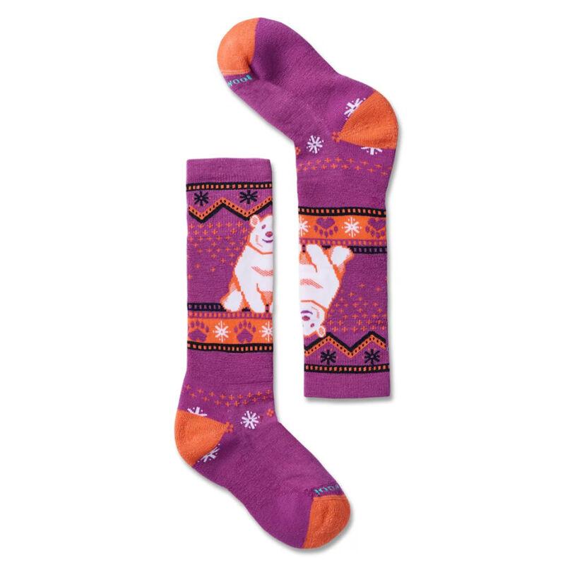 Smartwool Polar Bear Pattern Socks Kids image number 0