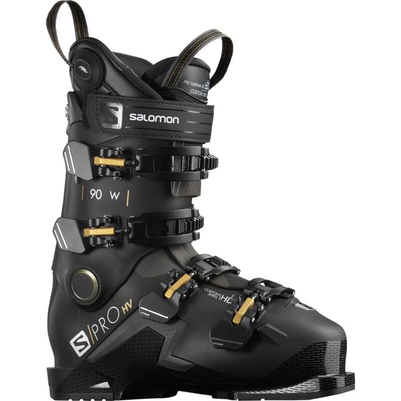 Salomon S/PRO 90 HV Custom Heat Connect Ski Boots Womens image number 0