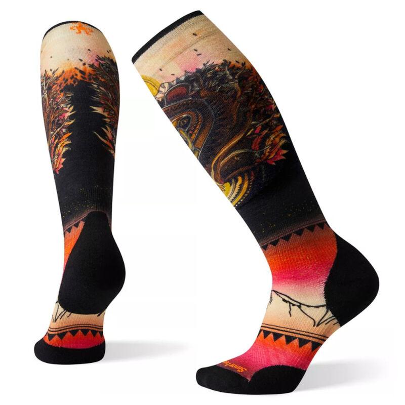 Smartwool Women's PhD® Ski Light Elite Print Socks image number 0