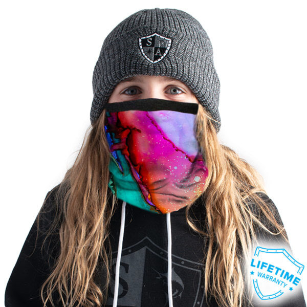 SA Company Frost Tech Fleece Lined Face Shield Kids