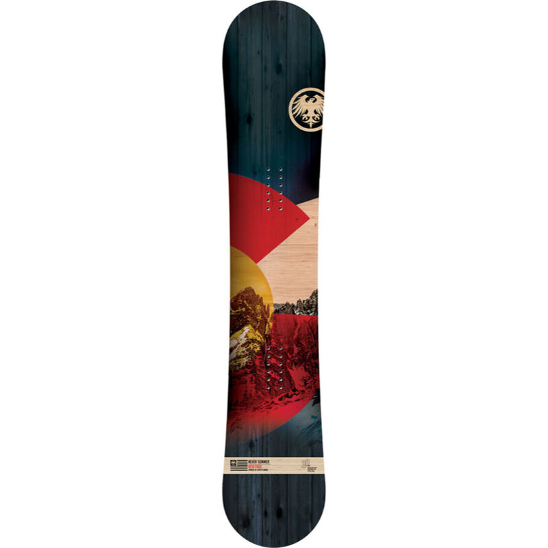Never Summer Heritage X Snowboard Mens image number 1