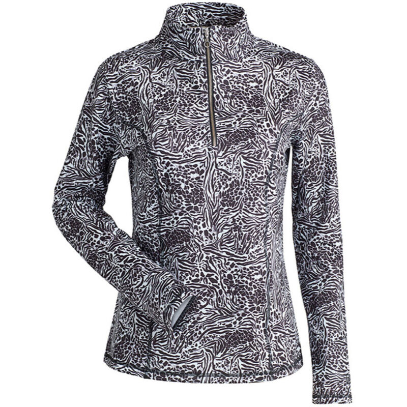 Nils Robin Print T-Neck Womens image number 0