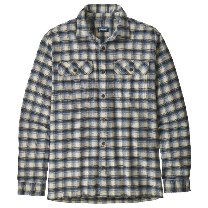 Patagonia Long-Sleeved Fjord Flannel Shirt Mens image number 0