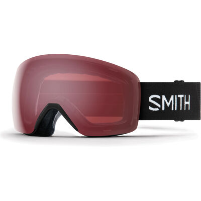 Smith Skyline Black - Rose Goggles - Womens 18/19