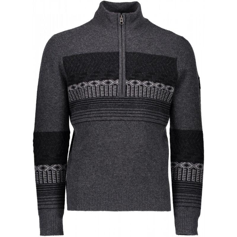 Obermeyer Textured 1/2 Zip Sweater - Mens image number 0