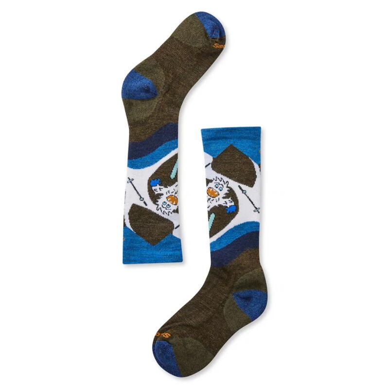 Smartwool Kids' Wintersport Yo Yetti Socks image number 0