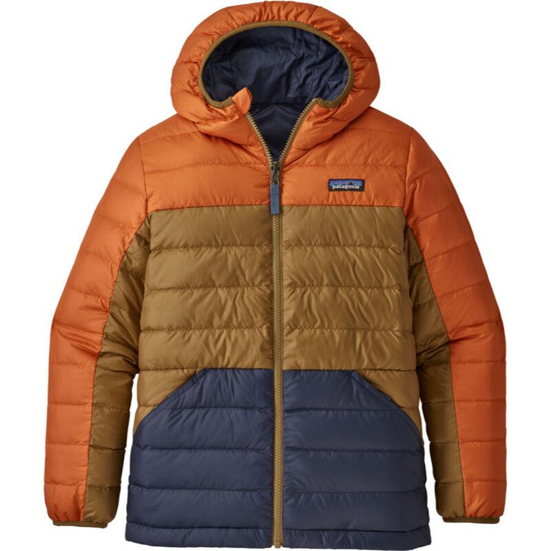 Patagonia Reversible Down Sweater Hoody Boys image number 0