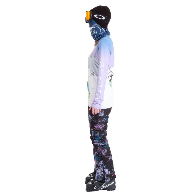 Spyder Shred Zip T-Neck Womens image number 7