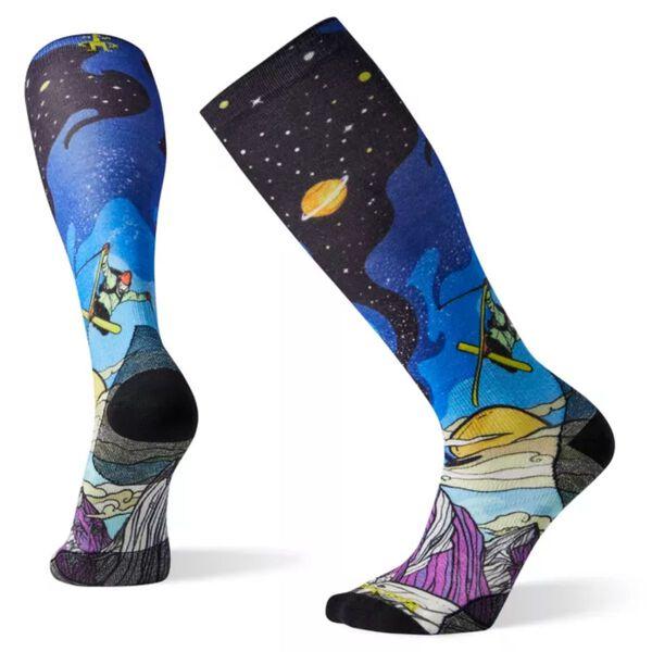 Smartwool PHD Ski Ultra Light Benchetler Print Socks Womens