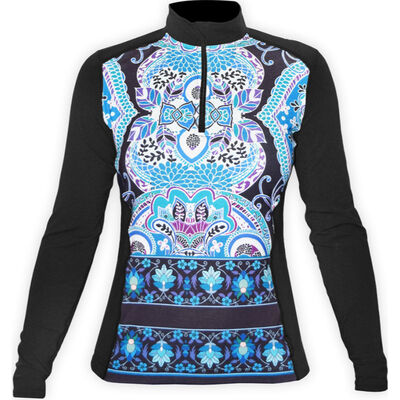 Hot Chillys Micro Elite Zip Top - Womens