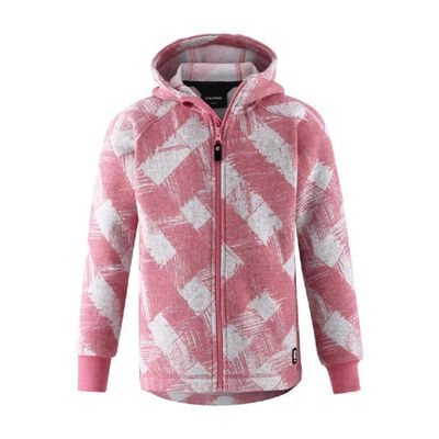 Reima Melange Knit Fleece Northern Hoodie - Toddler Girls 20/21