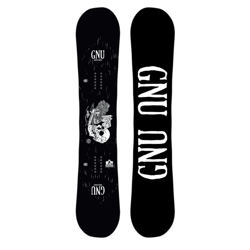 GNU Riders Choice Wide Snowboard Mens image number 2