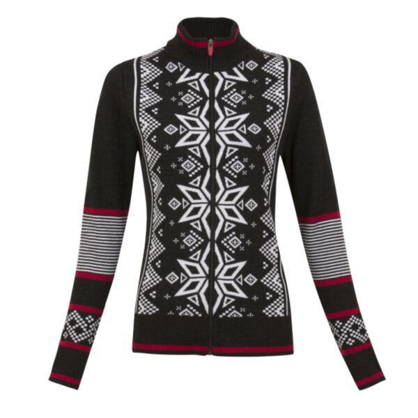 Krimson Klover Mind Bender Zip Cardigan Sweater Womens