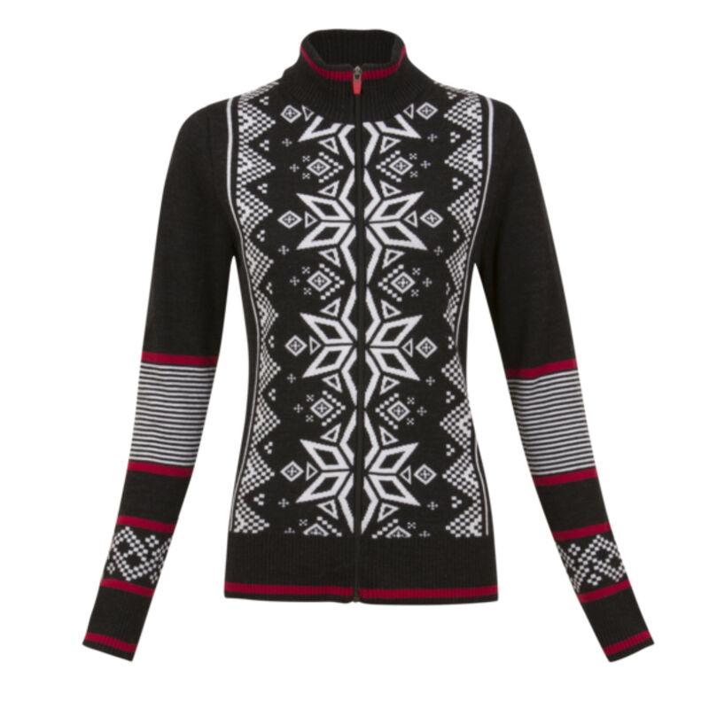 Krimson Klover Mind Bender Zip Cardigan Sweater Womens image number 0
