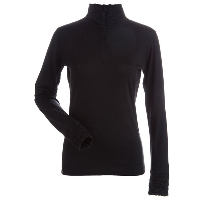 Nils Holly Zip T-Neck - Womens image number 0