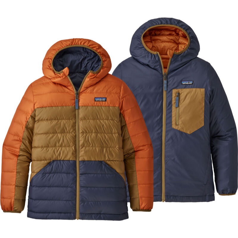 Patagonia Reversible Down Sweater Hoody Boys image number 1