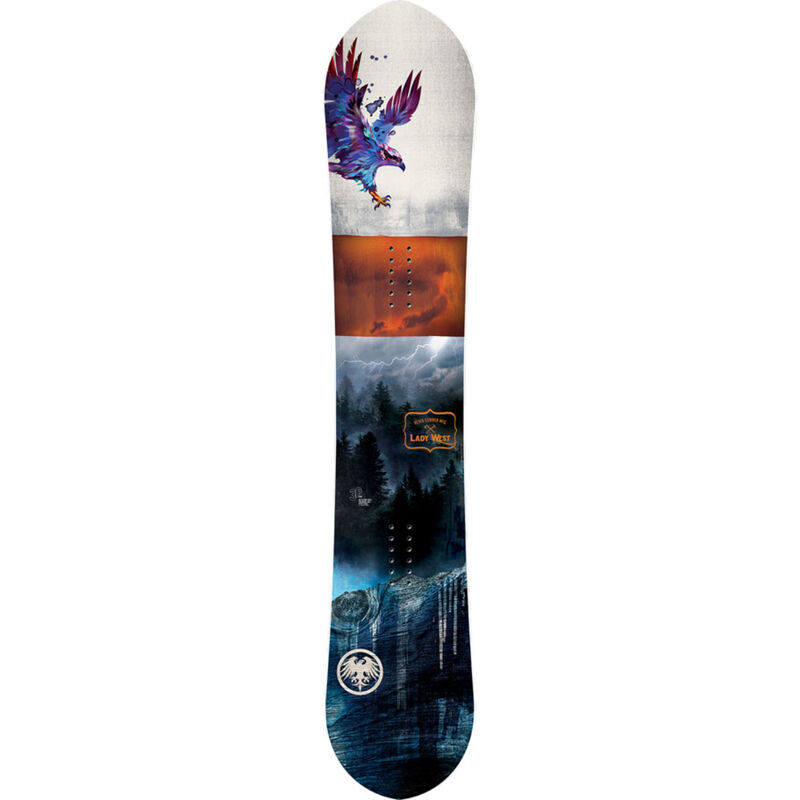 Never Summer Lady West Snowboard Womens image number 1