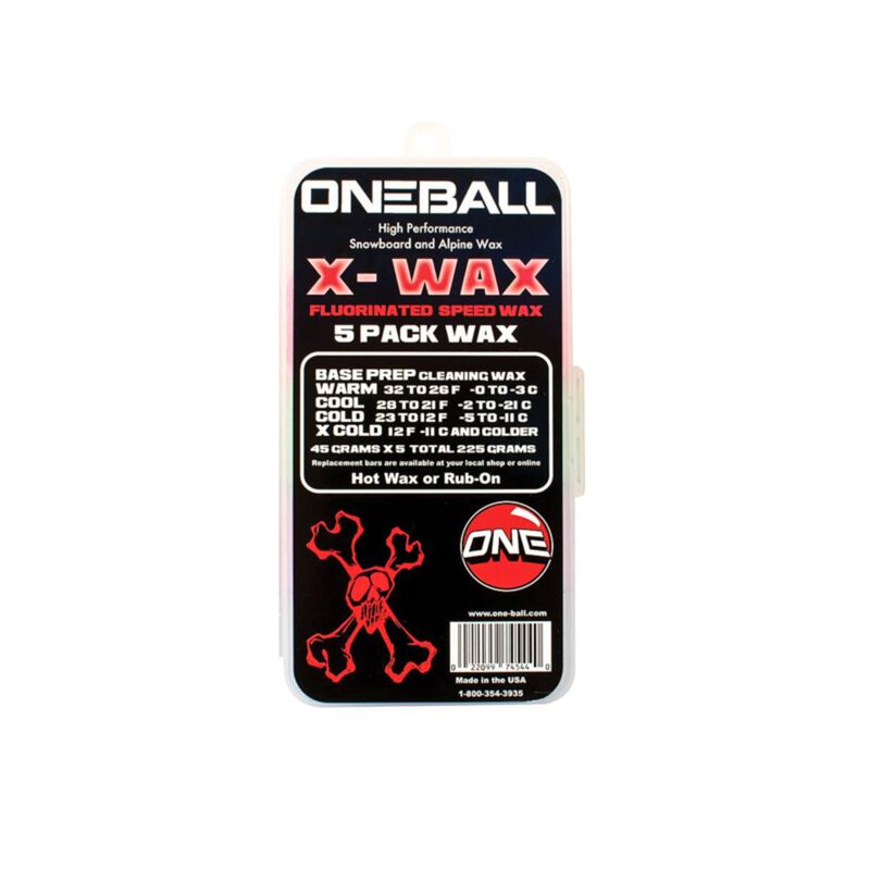 One-Ball Jay X-Wax 5 Pack image number 0