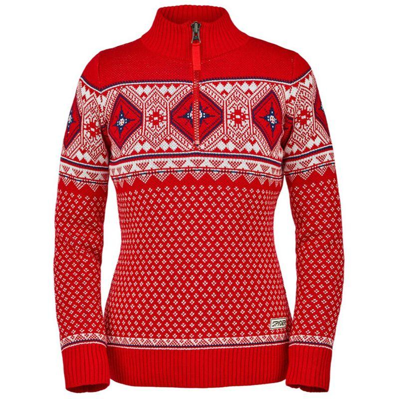 Spyder Arc Half Zip Sweater Womens image number 0