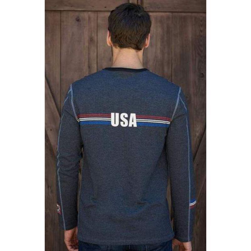 Alp-n-Rock USA Ski Crew Shirt Mens image number 1
