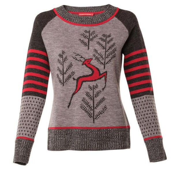Krimson Klover Prancing Sweater Womens