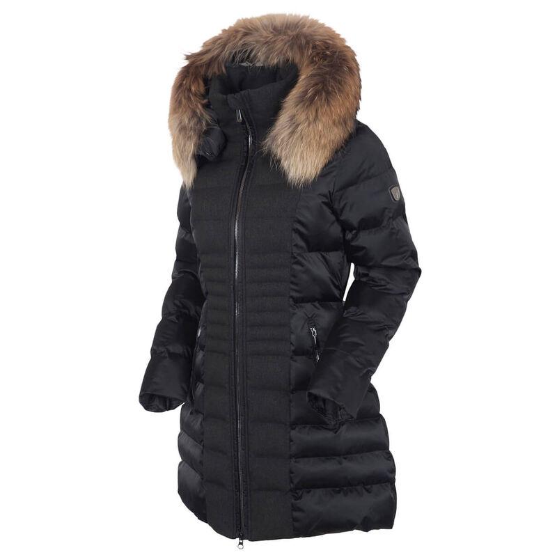 Sunice Eva Waterproof Quilted 3/4 Coat Womens image number 0