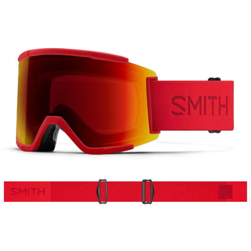 Smith Squad XL Goggles + Sun Red Mirror Lenses image number 0