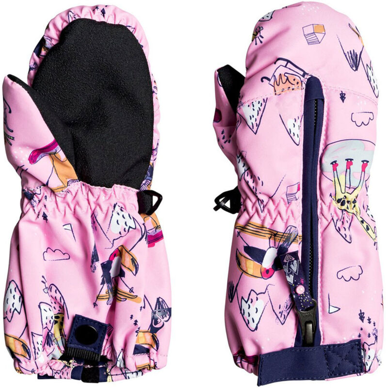 Roxy Snows Up Mittens Toddler Girls image number 0