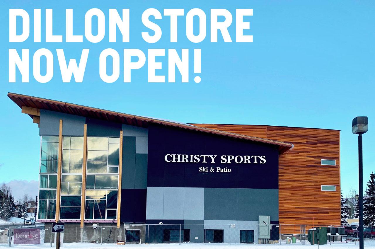 Christy Sports Signature Store in Dillon Colorado