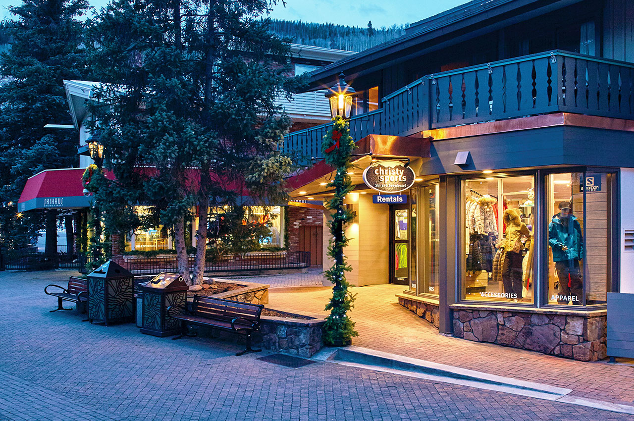 Christy Sports in Vail Village