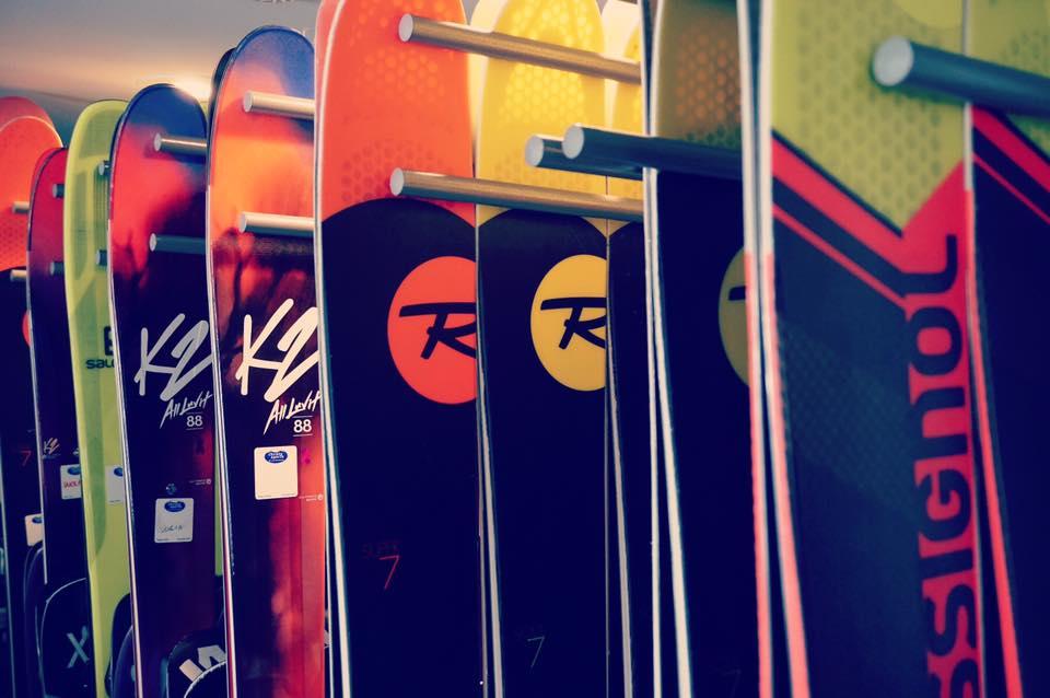 Christy Sports Ski Wall